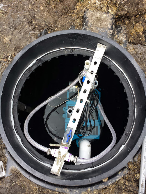BioBarrier® MBR installed in Infiltrator® Tanks
